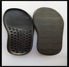FOOTBED TR & PVC SOLE 6-11