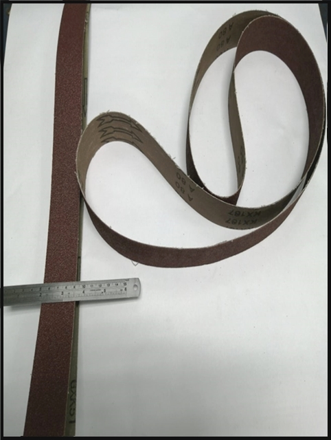 Sanding Belts 40/1500 available in Rough and Fine