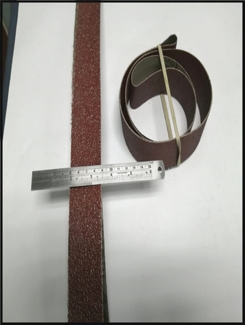 Sanding Belts 40/1510 available in Rough and Fine