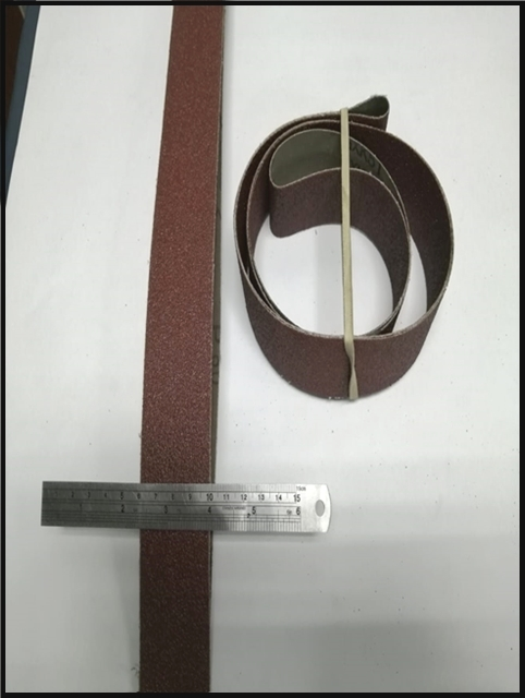Sanding Belts 40/1640 available in Rough and Fine